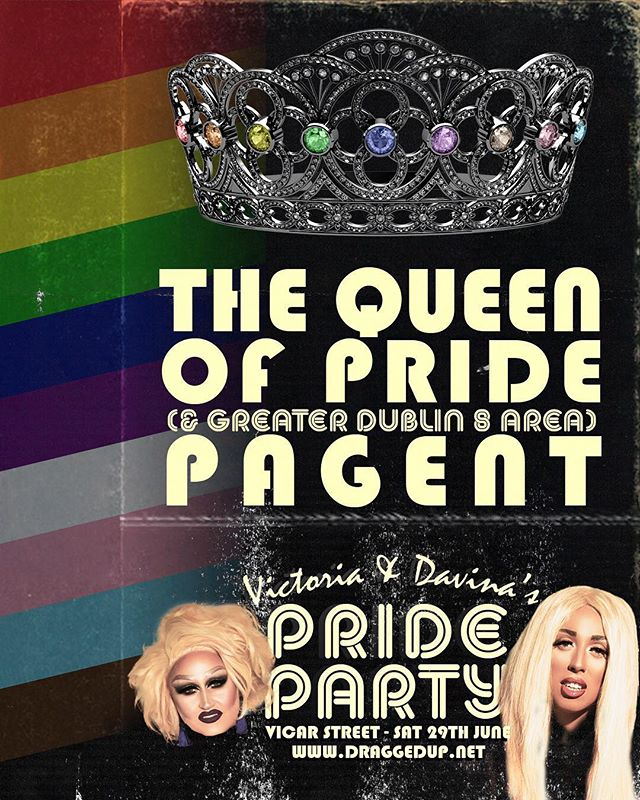A Queen or King will be crowned... All drag performers new or seasoned welcome to enter on the day. Who will steal the tiara? Swipe 👉🏻 for the full line up of gals joining us on the day for our Pride party with B*Witched &Cock Destroyers. Get early birds link at www.draggedup.net/pride (available from Monday at 9am)