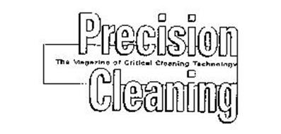 Precision Cleaning Background - Article by John B. Gayle (Precision Fabricating and Cleaning) in the September 1995 Issue of Precision Cleaning Magazine