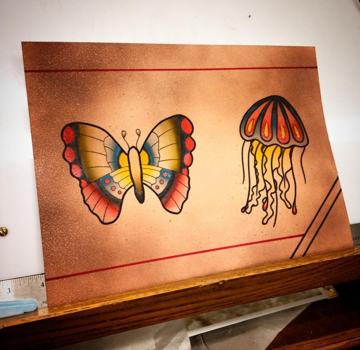 Butterfly Jelly fish Traditional.PNG