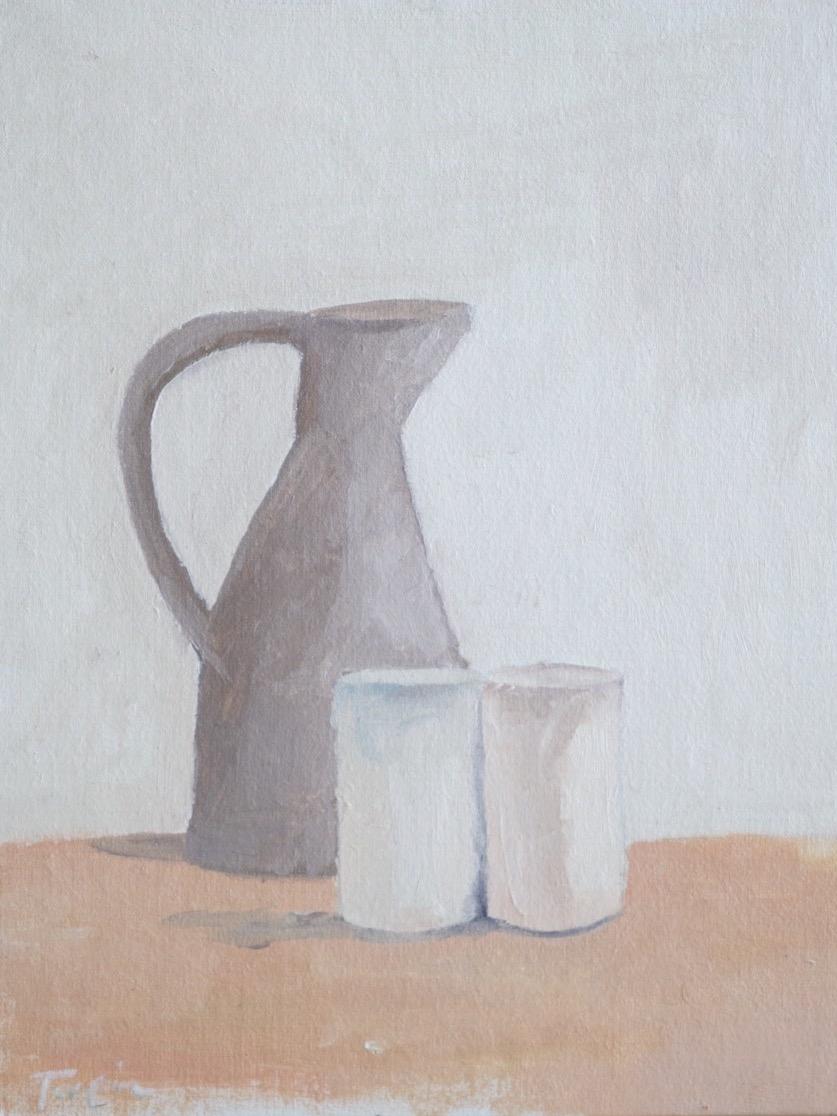 "still life no. 1 8""x10"" oil on canvas $25 SOLD"