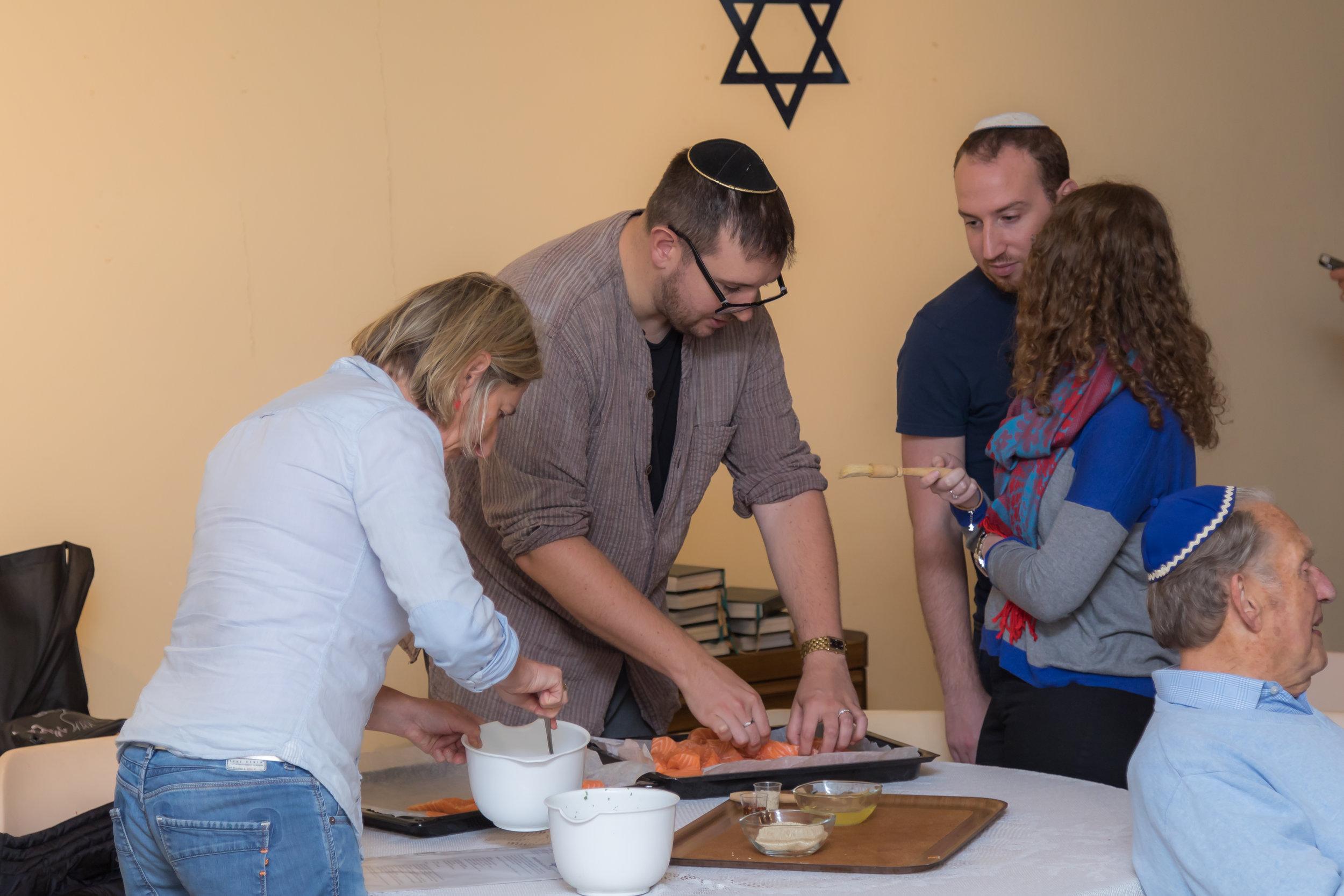 Rosh Hashanah Cuisine Workshop
