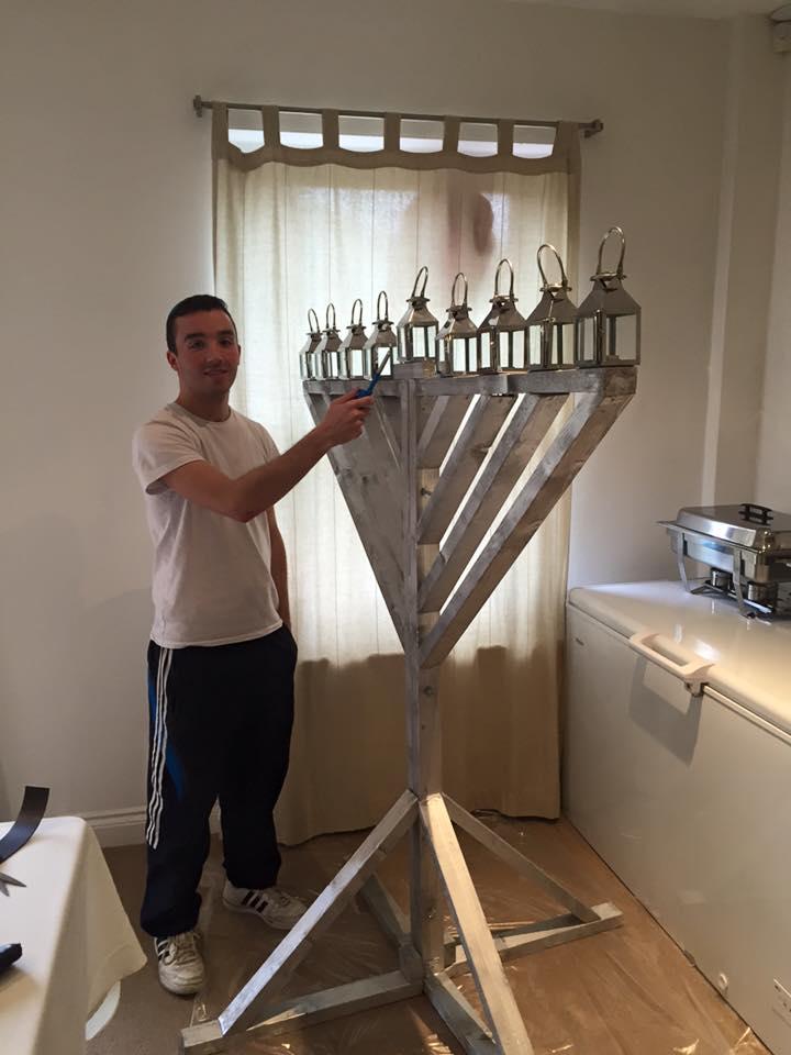 Jony Shindler Engineering the Grand Menorah