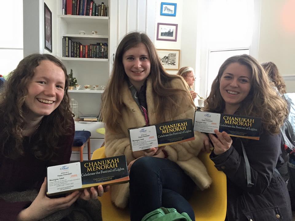 Menorah Kits for Students @ Cardiff