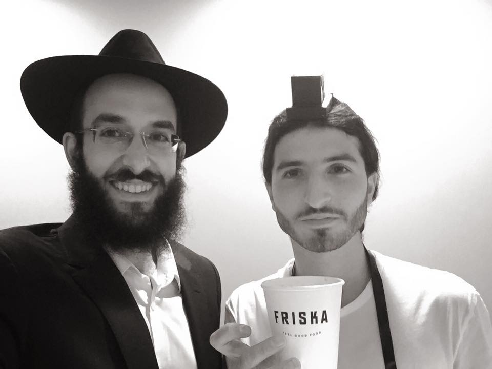 Coffee Chat plus a Mitzvah