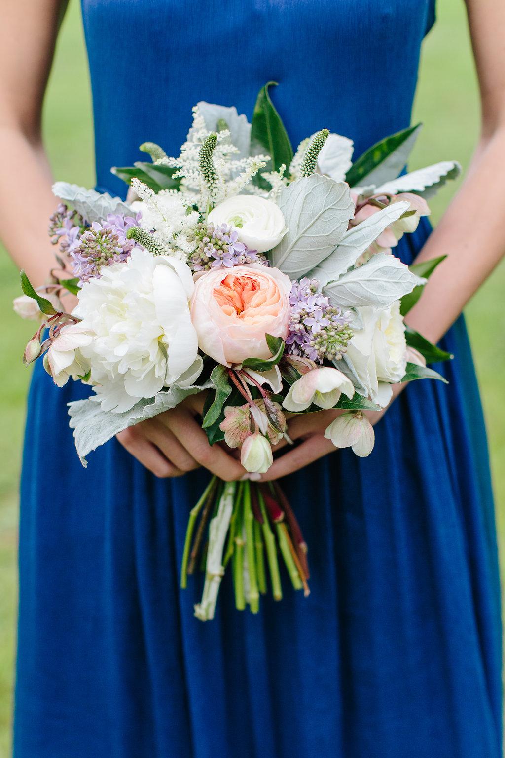 Spring bridesmaid bouquet inspiration