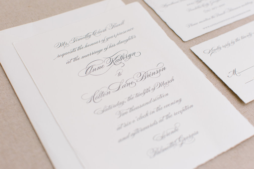 Wedding invitations in Augusta, GA