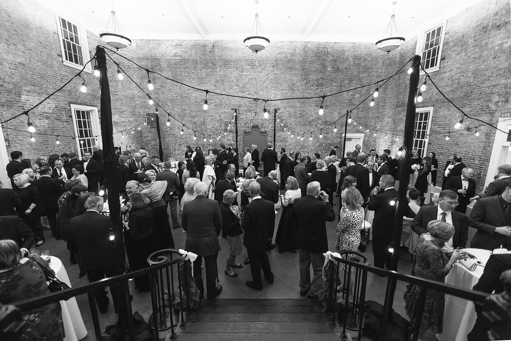 Wedding reception inside Old Medical College, Augusta, GA