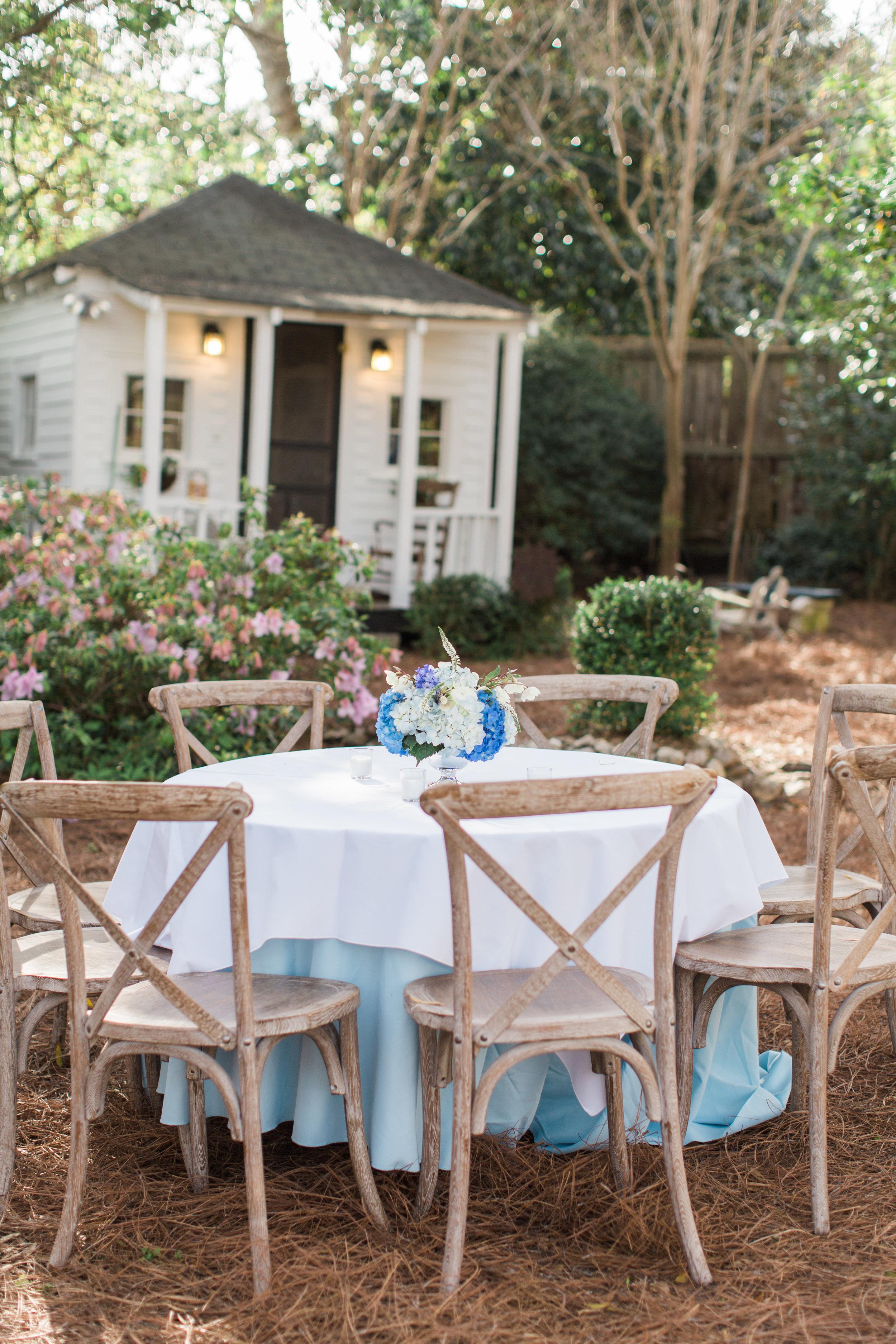 Wedding reception rentals, Augusta, GA