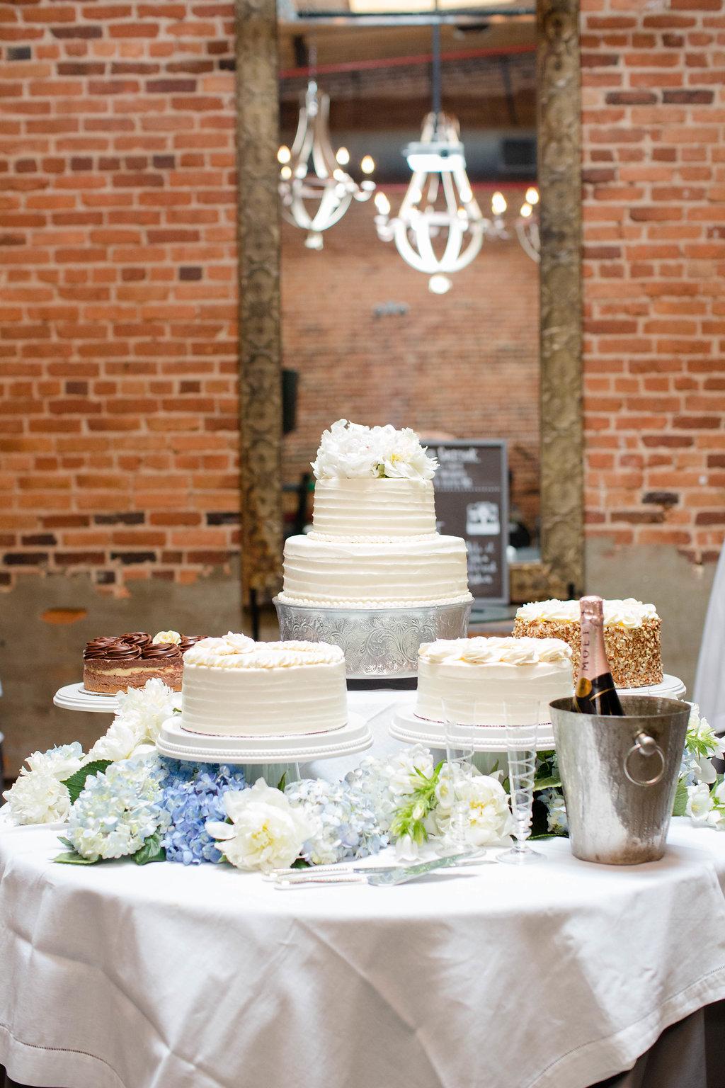 Summer's Temptations wedding cakes