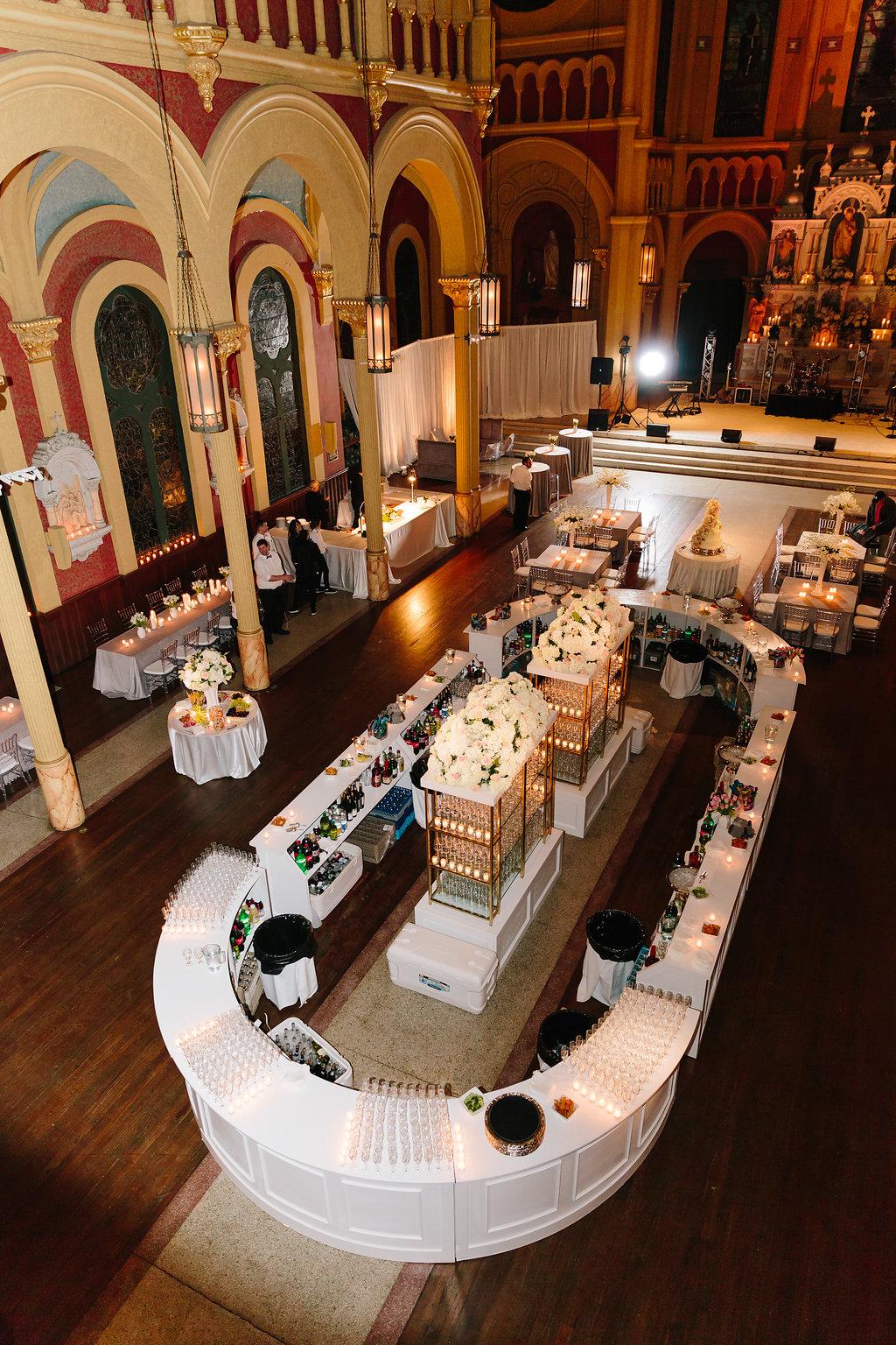 Sacred Heart Cultural Center wedding