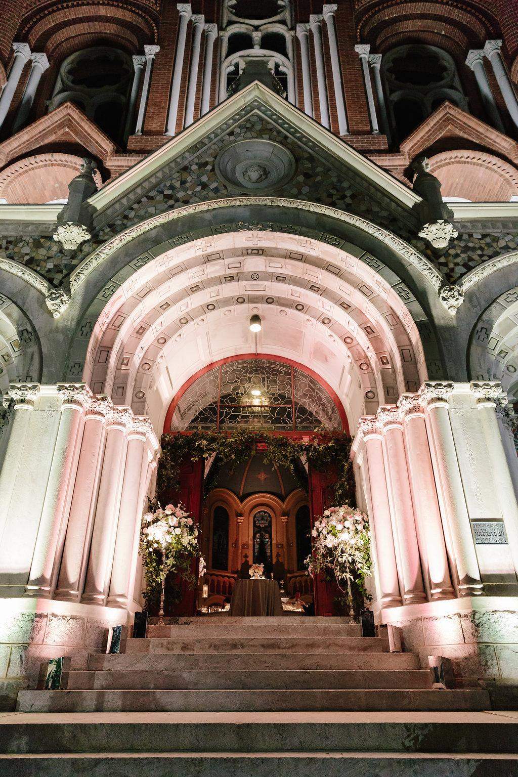 Sacred Heart wedding reception