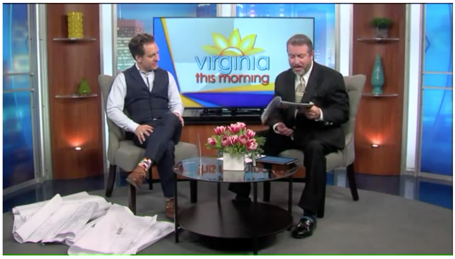 "Watch our segment on WTVR Virginia This Morning ""Follow the Tesauro family on the journey to their dream home"" - WTVR - 2/3/2016"