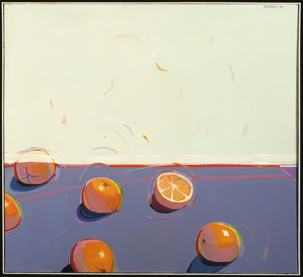 Four Windswept Oversize Oranges (2000) Raimonds Stapran