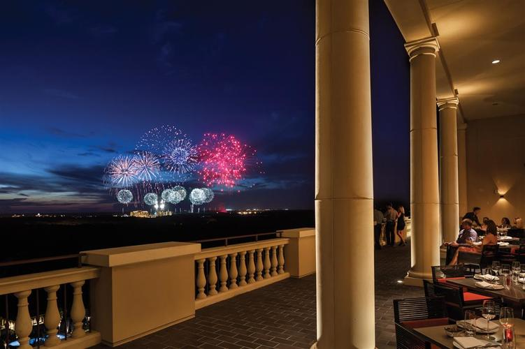 Four Seasons Orlando at Walt Disney World Resort fireworks.jpg