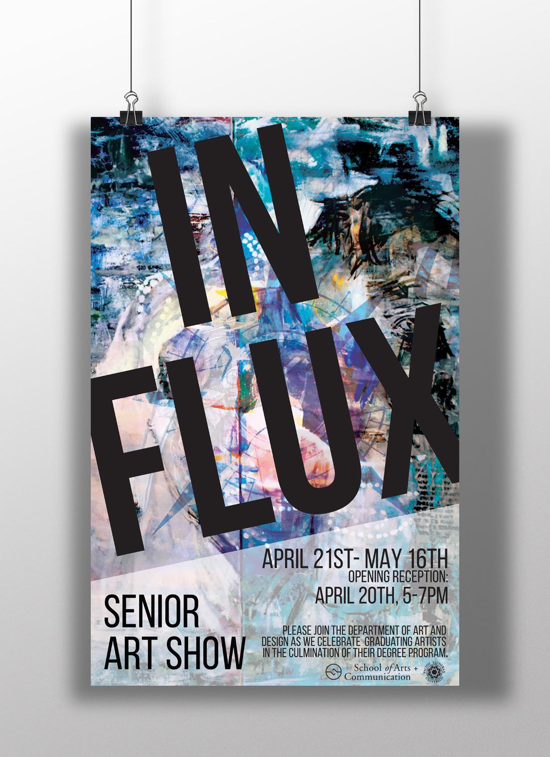 In Flux- Senior Art Show