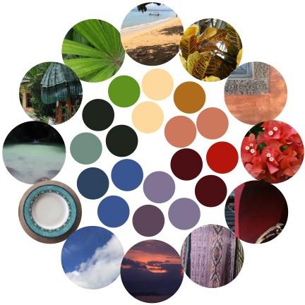 Bali Color Wheel