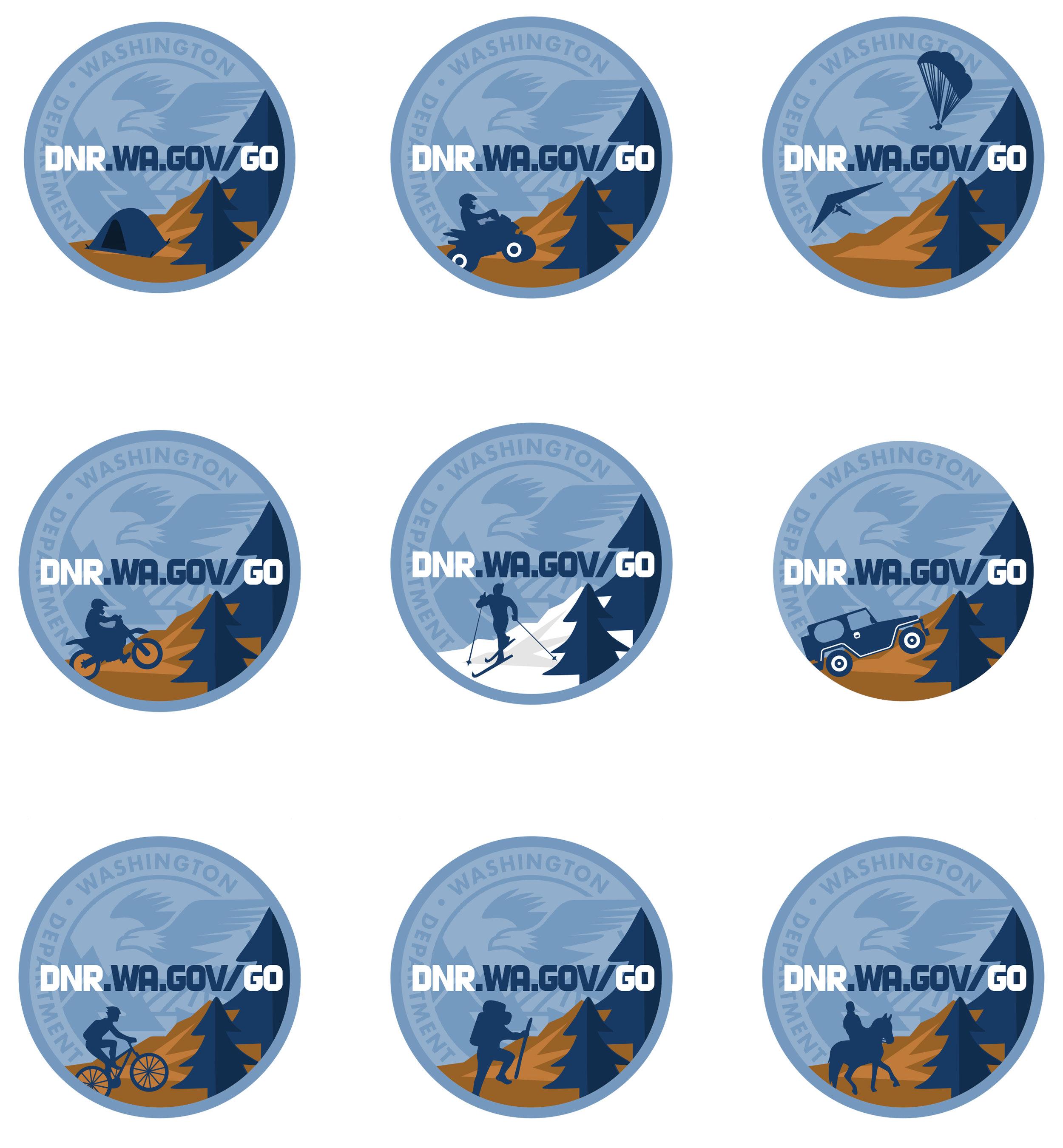 DNR Recreation Stickers