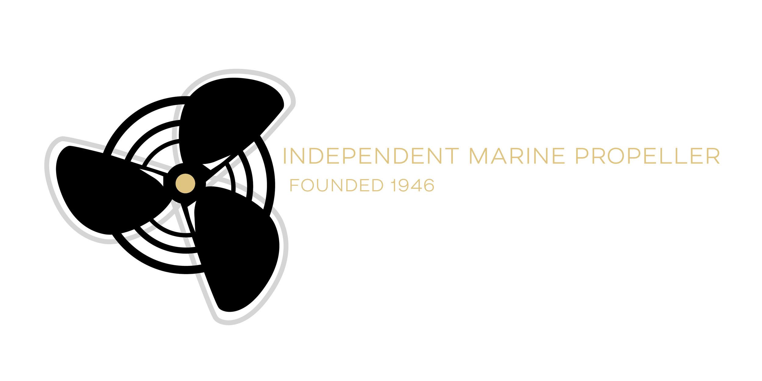 Independent Marine Propeller Logo