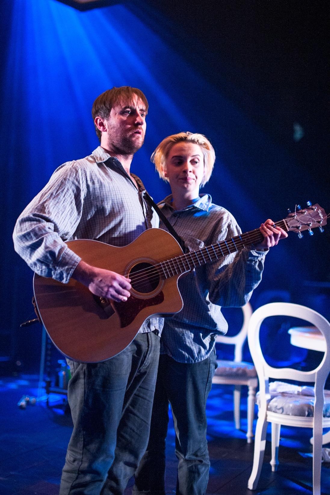 Dundee Rep Ensemble Love Song Ewan Donald (Beane) Sarah Swire (Molly).jpg