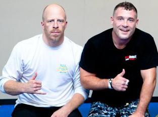Jay Bell (left), Rob Khan (Right)