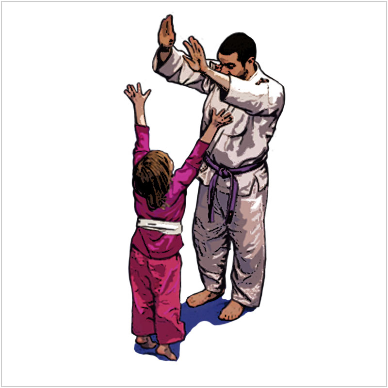 Kids Bully-Proof Jiu-Jitsu and Self-Defense - Developing self confidence, discipline and clear thinking under stress are core tenants of our kid's Jiu-Jitsu and self-defense programs.