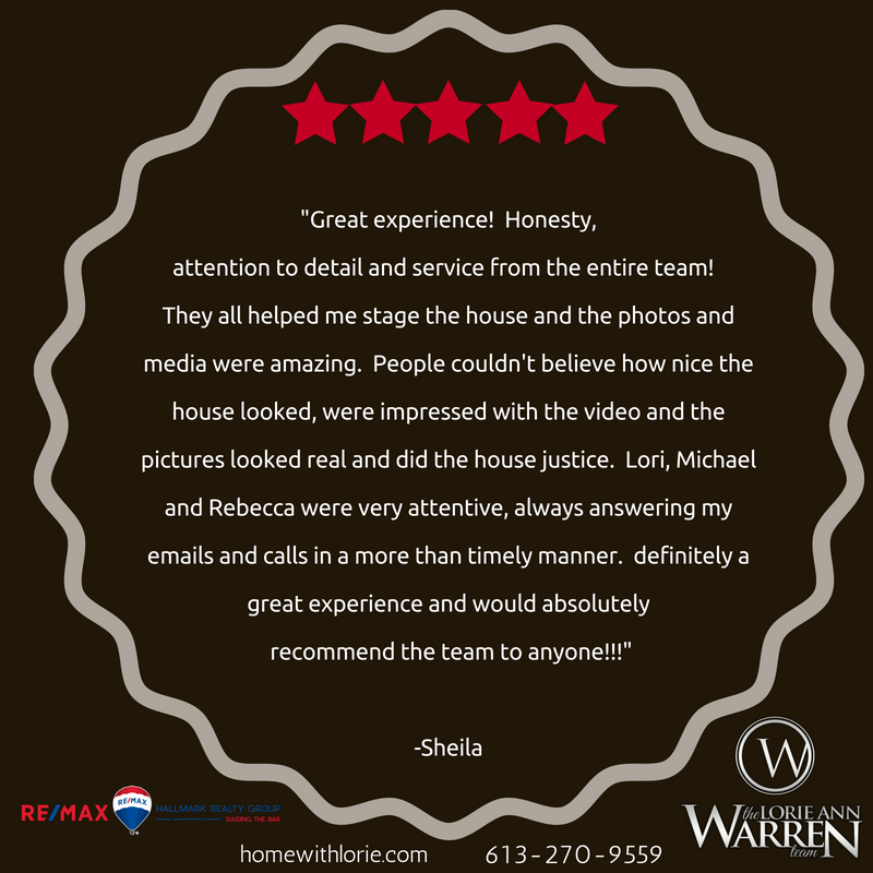 Lorie Ann, You are a truly wonderful agent! Thank you for all that you have done for us. We appreciated your honesty, integrity, your time and knowledge. And Thank you for seeing our vision, I would have never though.png
