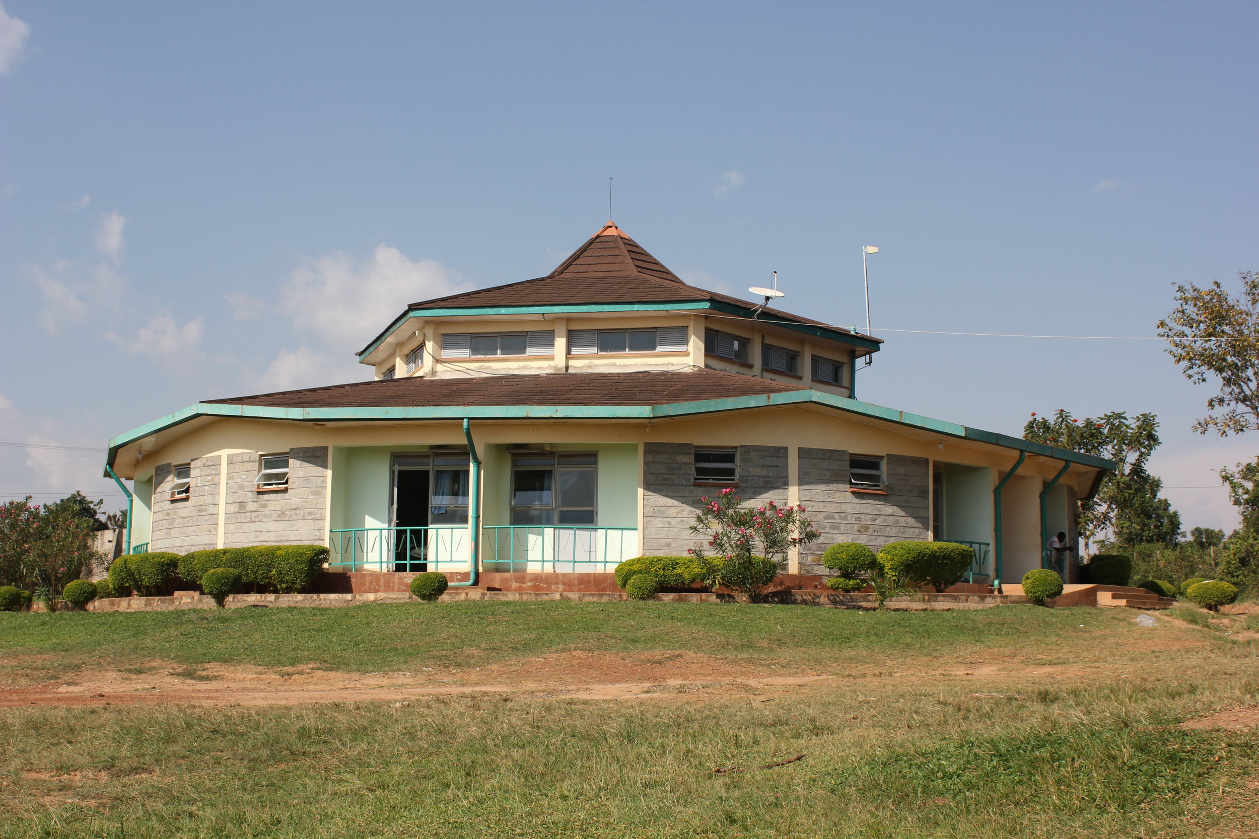 The Matibabu Foundation Hospital in Ukwala, rural west Kenya.