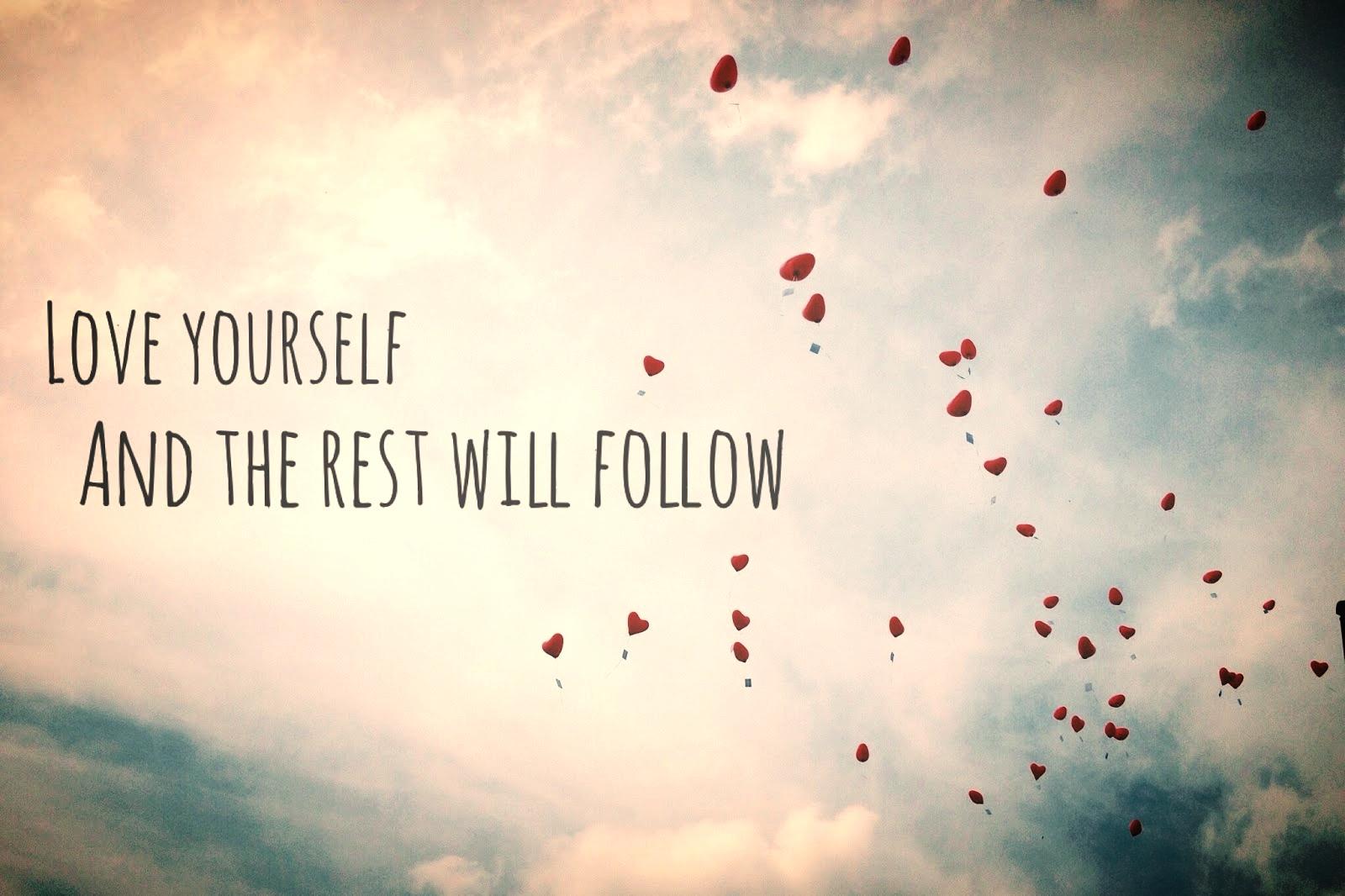 Wer sich selbst liebt, lässt seine Wünsche nicht in die Luft steigen, sondern in sein Herz.