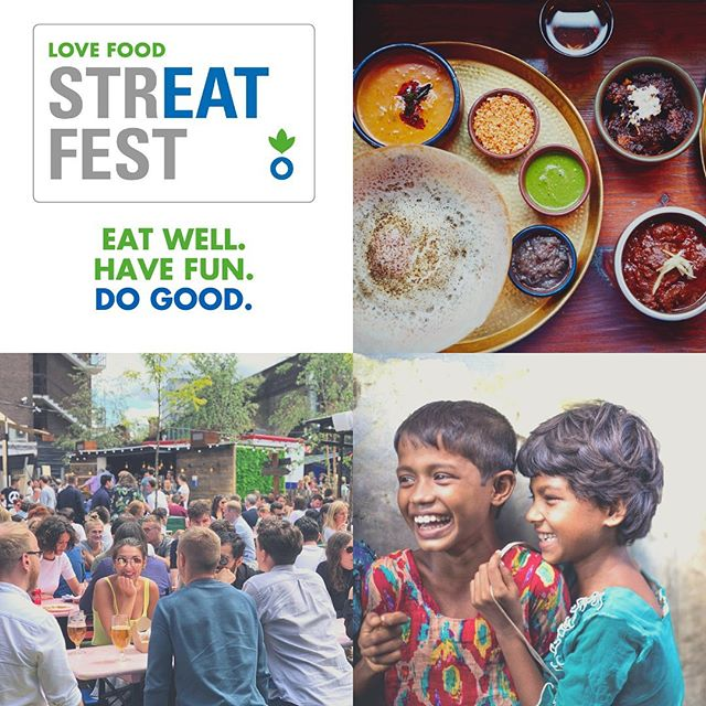 Exquisite Food. Live Music. Fantastic Prizes. We're super excited to be part of Action Against Hunger's #LoveFoodStreatFest on 11th September. Join us for a brilliant one-off evening at Flat Iron Square, as we raise funds for @acf_uk's lifesaving work. Eat Well. Have Fun. Do Good. Link in bio