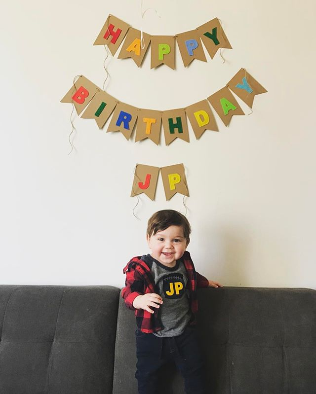 Happy first birthday to our littlest boho 👶 (not for long ☺️). I couldn't be more in love with this little dude. ❤Michelle #mamasboy #firstbirthday