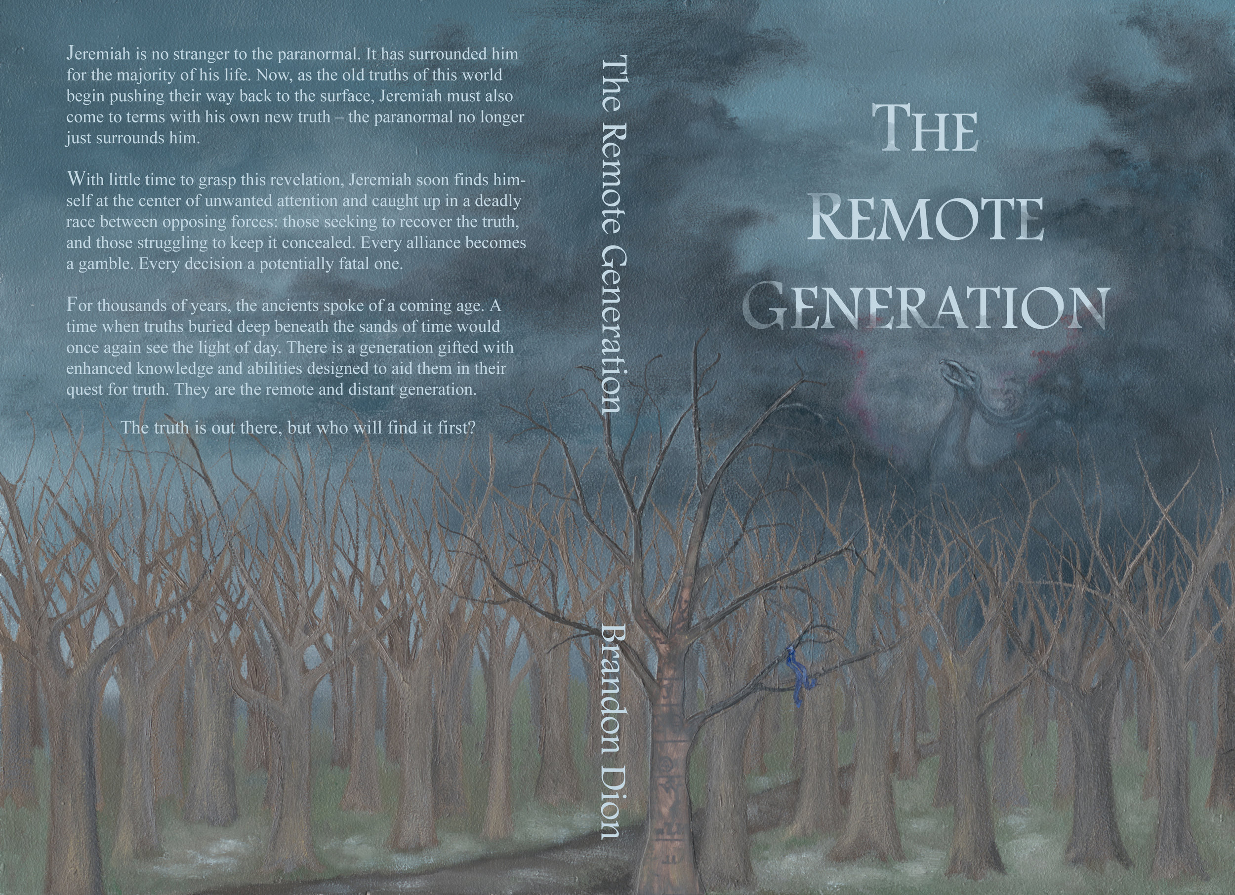 "Cover illustration and design for ""The Remote Generation"" 2017"