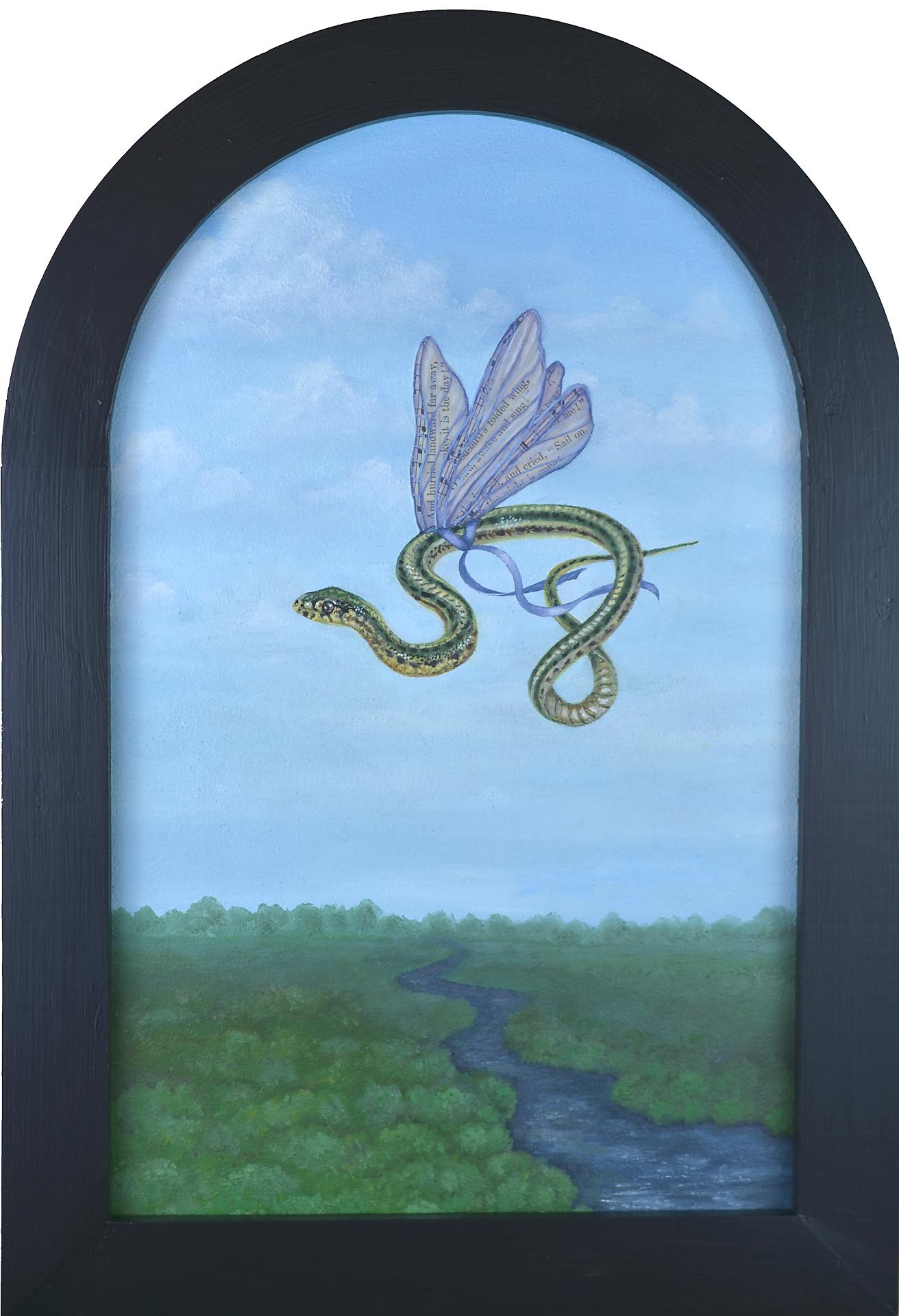 Flights of Fancy- Garter Snake