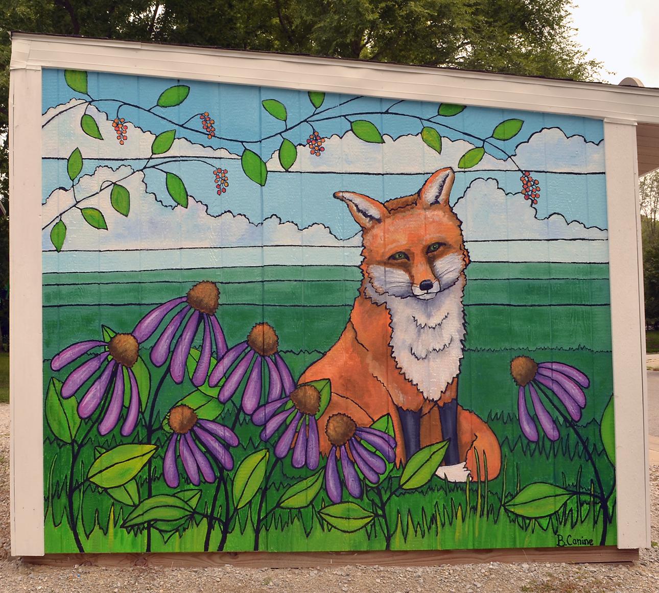 Fox in Glass