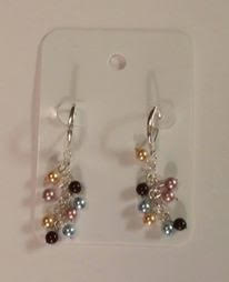 Sterling Silver w/ Swarovski Crystals and Pearls