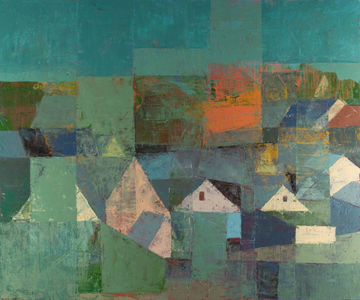Klee's Neighborhood - 24 x 20