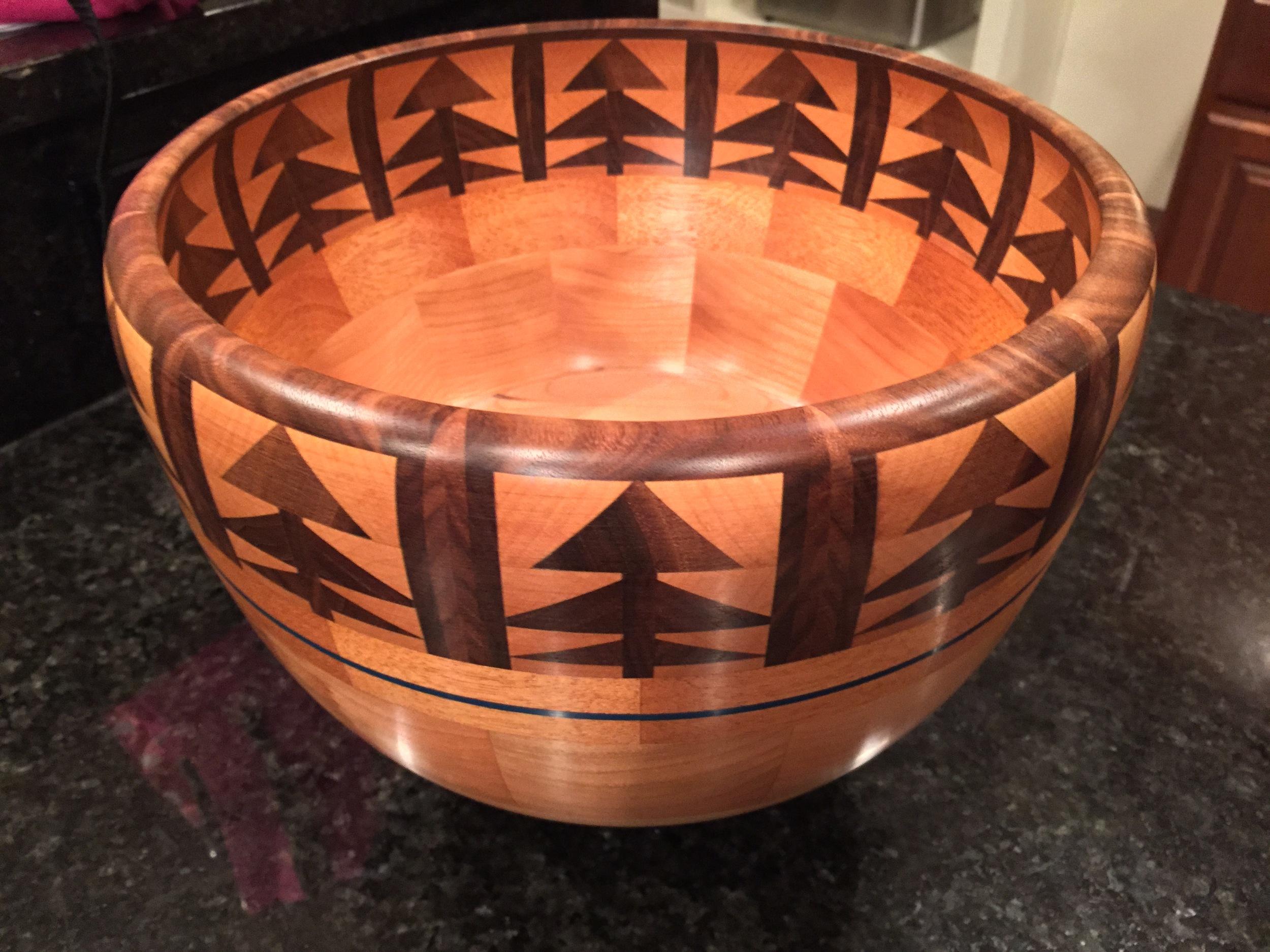 Custom Designed Segmented Bowls