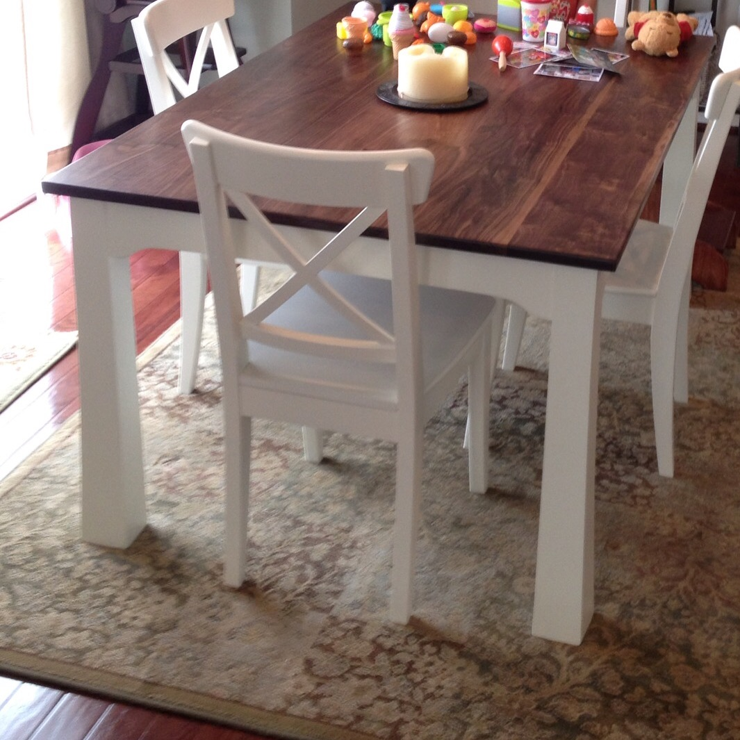 Modern French Country Table