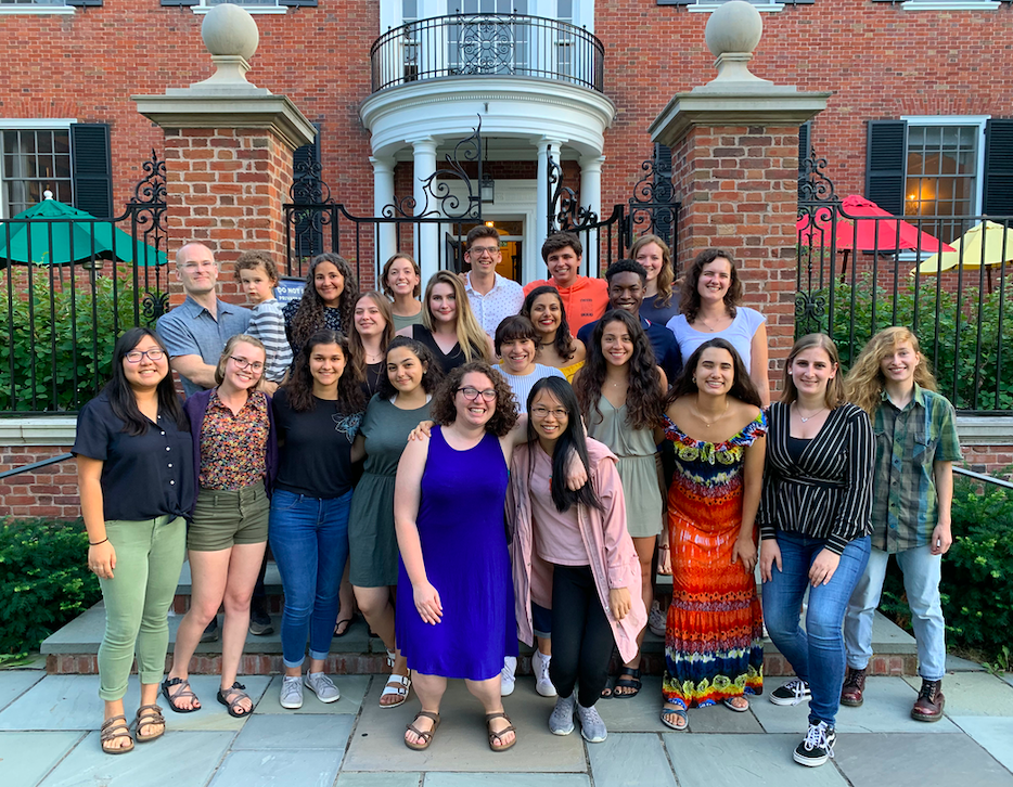 A special thanks to our 2019 Summer REU Interns!