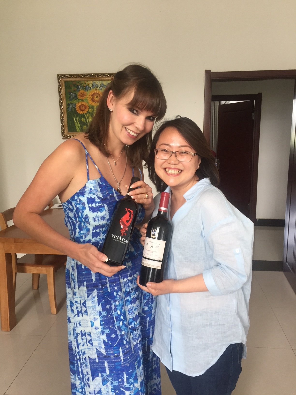 Tasting Decanter's 2011 World Wine Award winner with the winemaker herself, Zhang Jing
