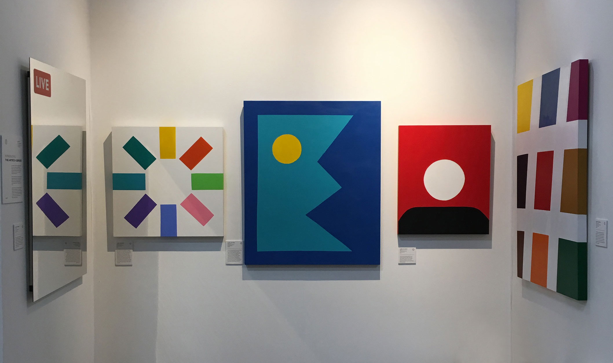 The Artech Series. The Other Art Fair Brooklyn, Nov 2017.