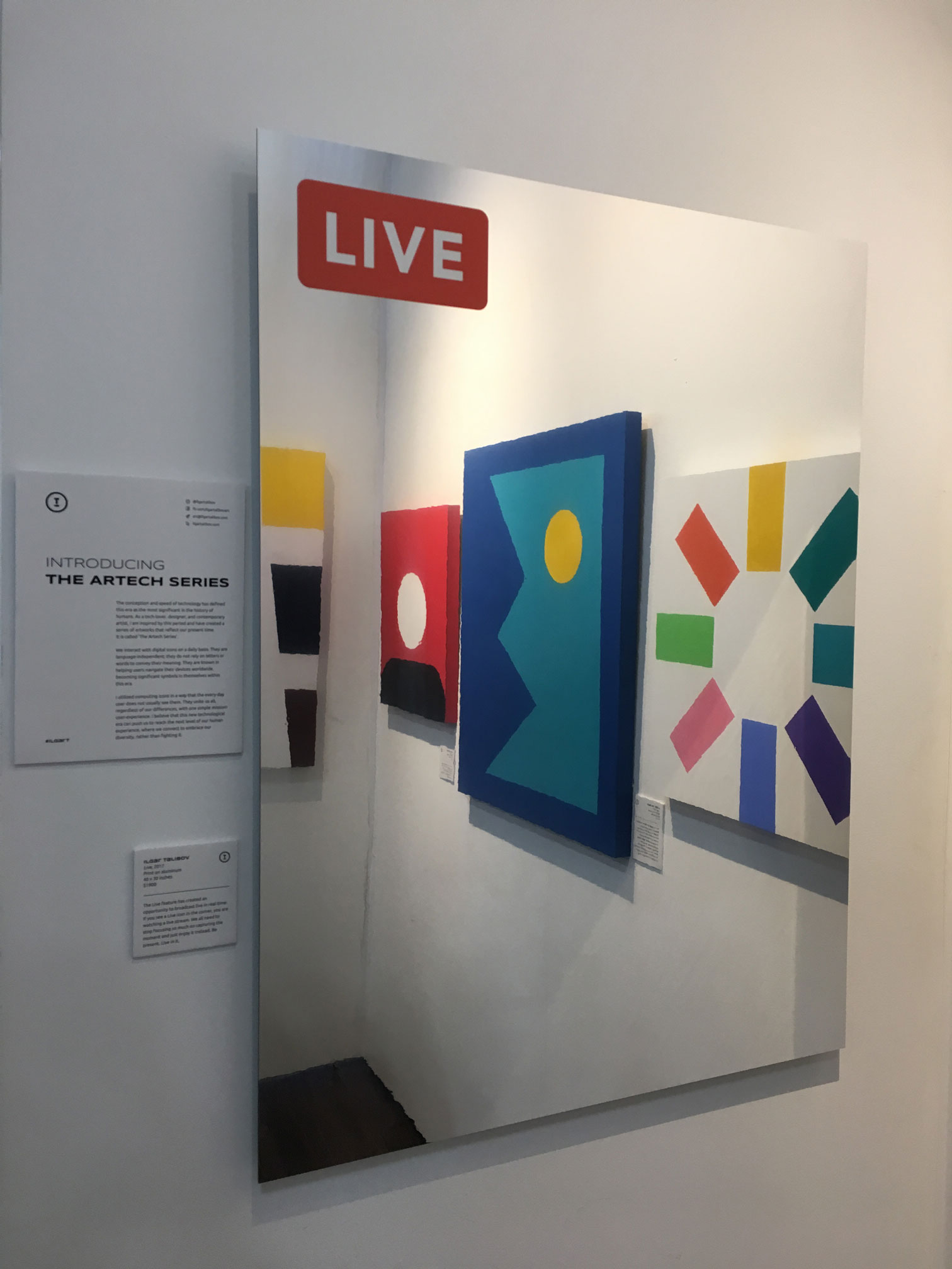 Live. The Other Art Fair Brooklyn, Nov 2017.