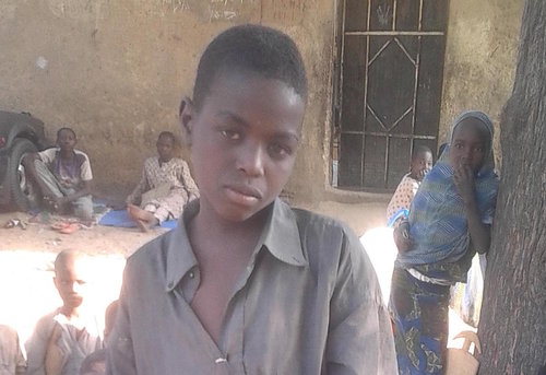 Street Child Nigeria boy who lost parents conflict