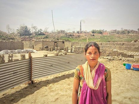 Street Child Nepal are building school in brick factories so that mothers like Bimala can send their children to school
