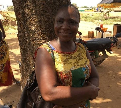Street Child Liberia Social Worker Girls Education