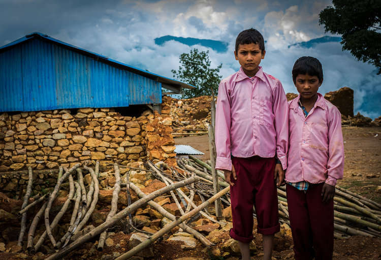 Street Child Nepal are rebuilding schools after the 2015 earthquake which left millions of children unable to go to school.
