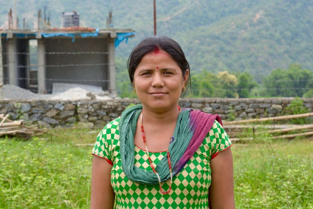 Street Child of Nepal are working to rebuild schools in earthquake impacted communities so that mothers like Saraswati can see their children return to school