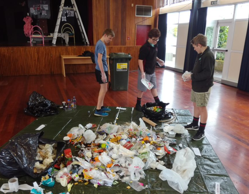 Approx 50kg of Food waste produced per week