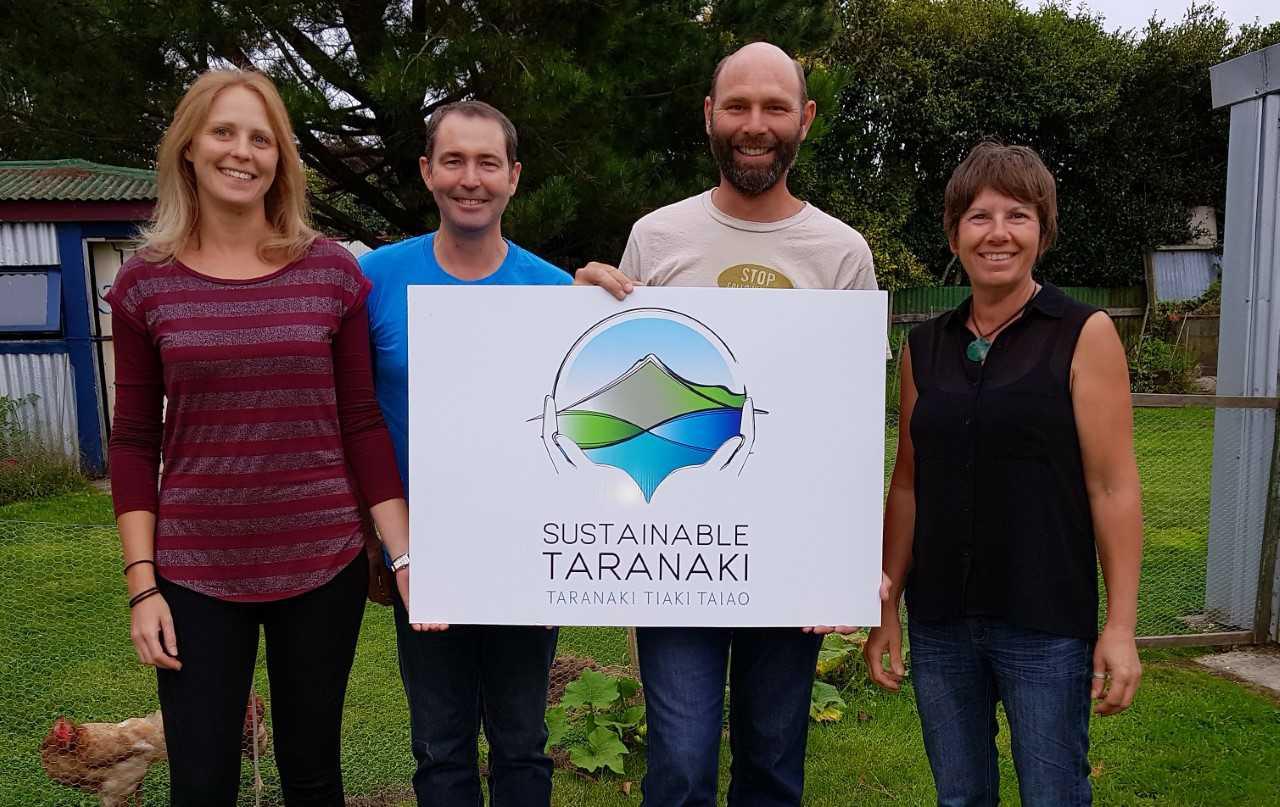 Trustees with Sustainable Taranaki logo.jpg