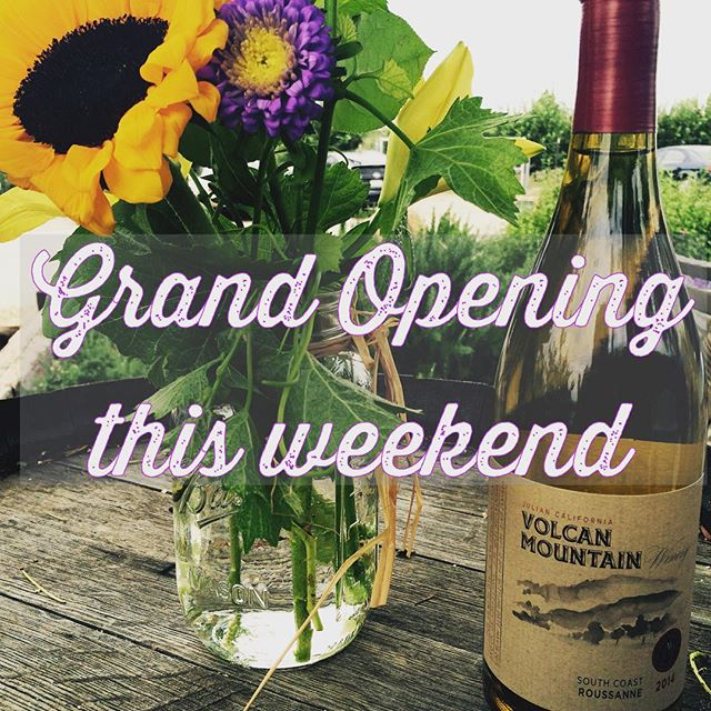 Join us this weekend for our Grand Opening! We'll be open Friday, Saturday, & Sunday from 11am-5pm. Saturday will be extra fun with live music and Jeremy's on the Hill flatbreads for purchase.