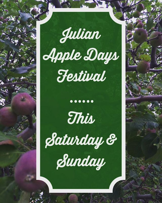 Come for the festival, stay for music and a glass of @volcanmountainwinery wine.  www.julianca.com/apple-days  #wine #juliancalifornia #sandiego #volcanmountain #weekendfun